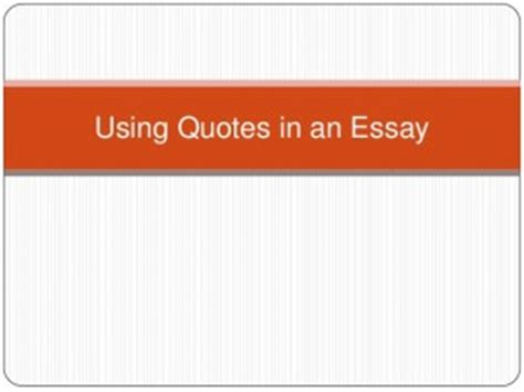 Sample Extended Essay Questions - SlideShare
